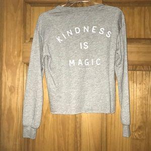 Spiritual Gangster crop sweatshirt